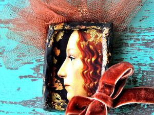 """Новая Интригующая Коллекция брошей и колье """"Подглядывающая"""". Ярмарка Мастеров - ручная работа, handmade."""