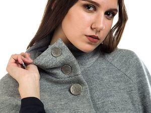 Представляю новинку : пальто - кейп. Ярмарка Мастеров - ручная работа, handmade.