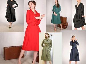 Выбираем цвет офисного платья. Ярмарка Мастеров - ручная работа, handmade.