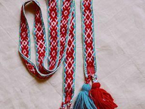 Русский набор для Хенрика уезжает в Польшу... в нем мой пояс :). Ярмарка Мастеров - ручная работа, handmade.