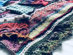 Остатки сладки. Скоро очередной шарф. Ярмарка Мастеров - ручная работа, handmade.
