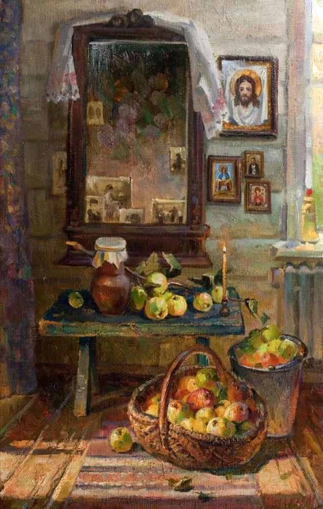 Картинки яблочного спаса на руси, надписью елена