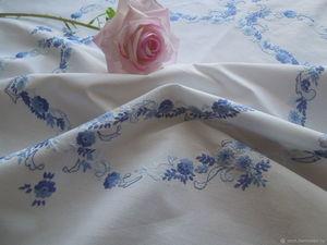 РАСПРОДАЖА продолжается — до 70% на винтажные скатерти и салфетки!. Ярмарка Мастеров - ручная работа, handmade.