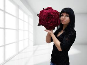 Конкурс-Розыгрыш сумочки-розы в цветнике Фот Татьяны! | Ярмарка Мастеров - ручная работа, handmade