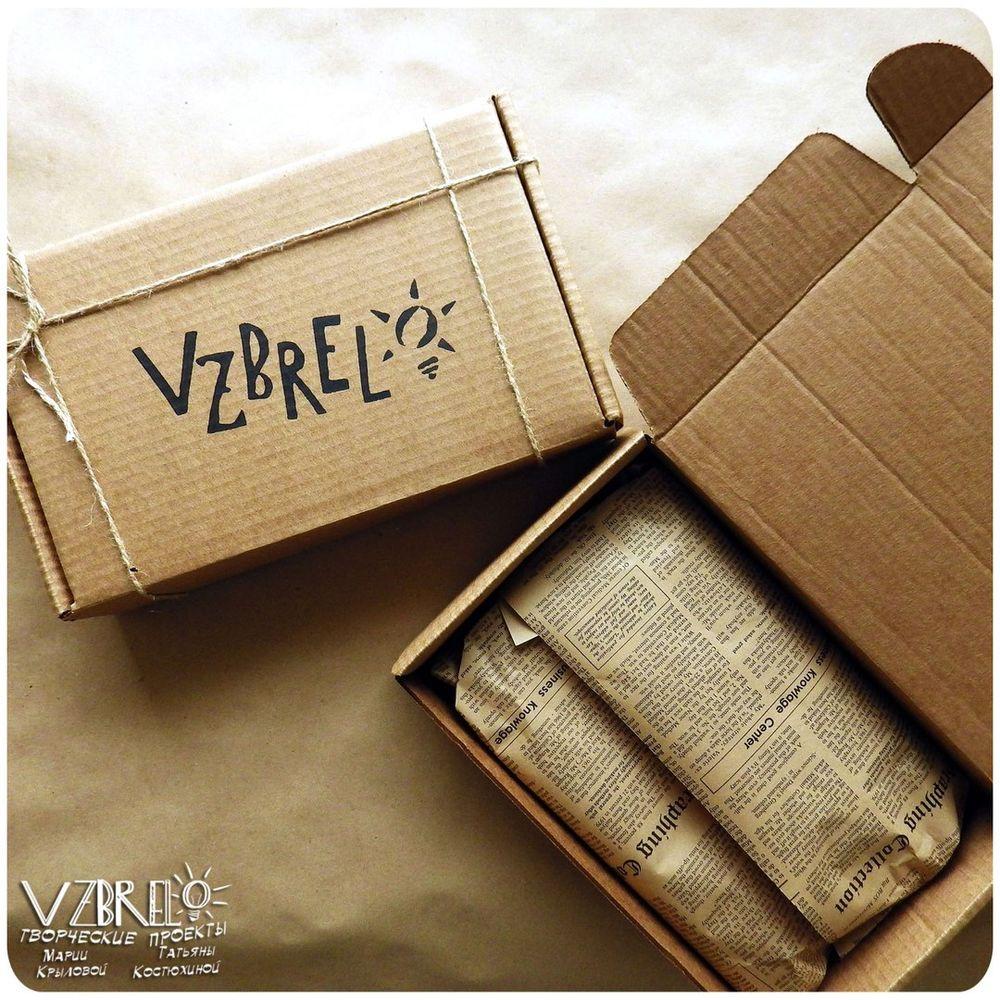vzbrelo, взбрело, упаковка, коробочки, коробки, наши вещи, вид, посылки, крафт, деревянные блокноты, блокноты из дерева
