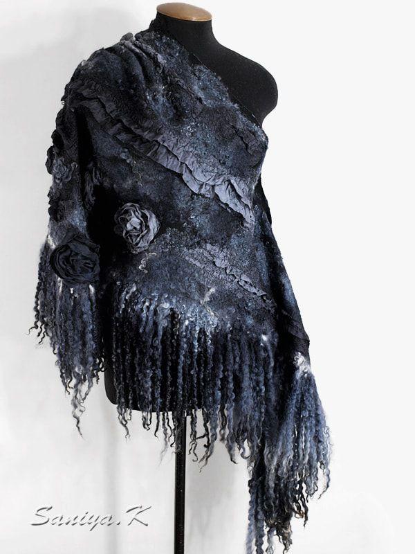 шерстяная шаль