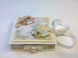 Свадебная коробочка для денег.. Ярмарка Мастеров - ручная работа, handmade.