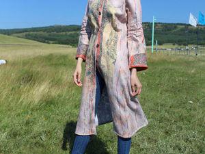 Пальто легкое, на заказ. | Ярмарка Мастеров - ручная работа, handmade