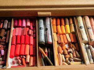 Какие пастельные мелки я выбираю?. Ярмарка Мастеров - ручная работа, handmade.