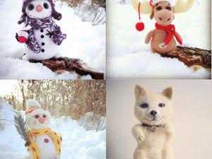 Только в Чёрную Пятницу!-40% на игрушки к Новому Году!!!. Ярмарка Мастеров - ручная работа, handmade.