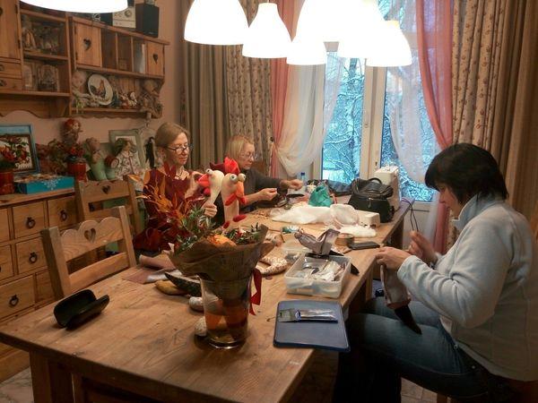 ОТзыв после прохождения курса по текстильной игрушке у Наталии Учкун. | Ярмарка Мастеров - ручная работа, handmade