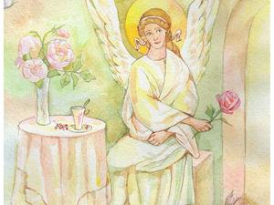 Про Ангела и Кота | Ярмарка Мастеров - ручная работа, handmade