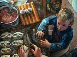 Деревенские мотивы в творчестве художника Таси (Настасьи) Чудаковой. Ярмарка Мастеров - ручная работа, handmade.