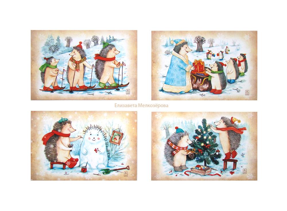 зимний зима праздник, снег снежный снеговик, белый красный голубой