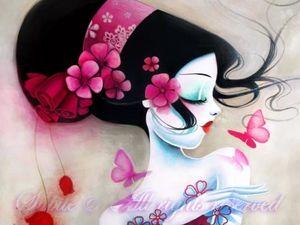 Сказочные принцессы от художницы Sybile. Ярмарка Мастеров - ручная работа, handmade.