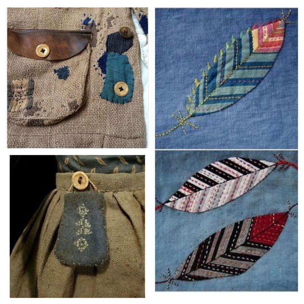Детали решают все, или Превращаем обычную одежду в арт-объект, фото № 12