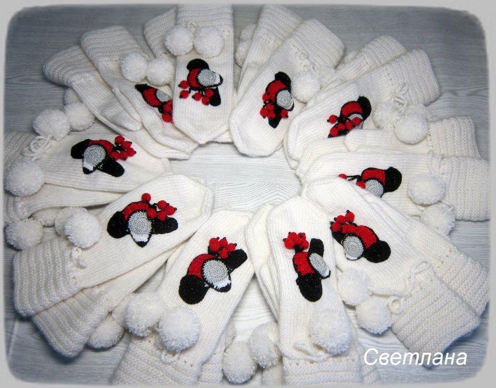 варежки вязаные, ручнаяработа, ручная вязка, теплые подарки, варежки в подарок