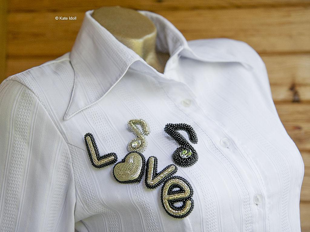 Объемная вышивка бисером для ленивых «Высокая нота», фото № 2