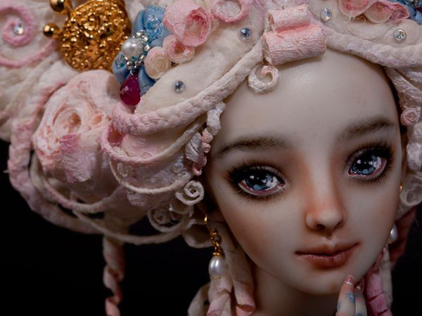 Чувственные куклы Марины Бычковой: процесс их создания, удивительные фотографии кукол и мысли мастера | Ярмарка Мастеров - ручная работа, handmade