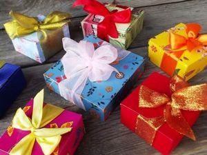 Делаем своими руками подарочную коробочку всего за 3 минуты | Ярмарка Мастеров - ручная работа, handmade