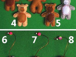 Новогодние игрушки штучно. Ярмарка Мастеров - ручная работа, handmade.