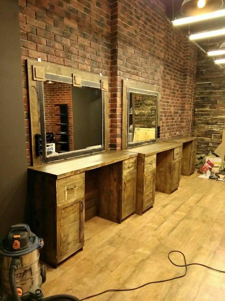 барбер, проект барбершопа, desing barbershop