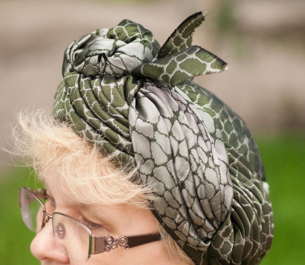дамская шляпа, рептилии, текстильная шляпа