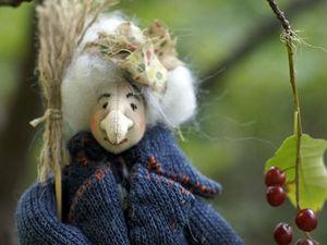 Баба Яга мини новый персонаж. Ярмарка Мастеров - ручная работа, handmade.