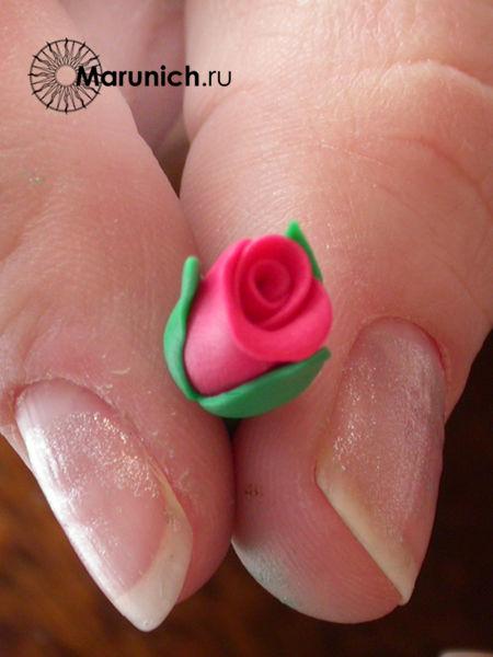 розы из полимерной глины, полимерная глина уроки, украшения из пластики, цветы из полимерной глины, полимерная глина уроки для начинающих