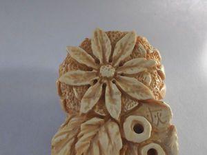 Создание нэцкэ из бивня мамонта. Ярмарка Мастеров - ручная работа, handmade.