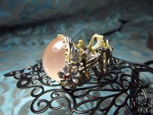 """Скидка 20% Кольцо """"Розовые мечты"""". Ярмарка Мастеров - ручная работа, handmade."""