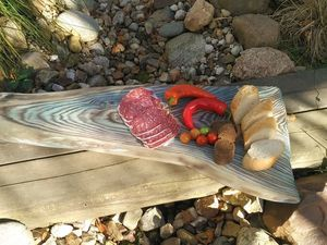 Семейная чабань.Сервировочная доска.Ты моё море. Ярмарка Мастеров - ручная работа, handmade.