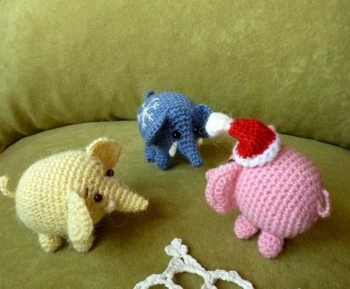 на трех слонах..