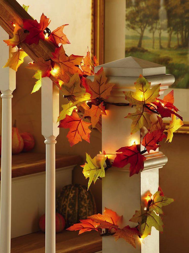 осень, декоративные элементы
