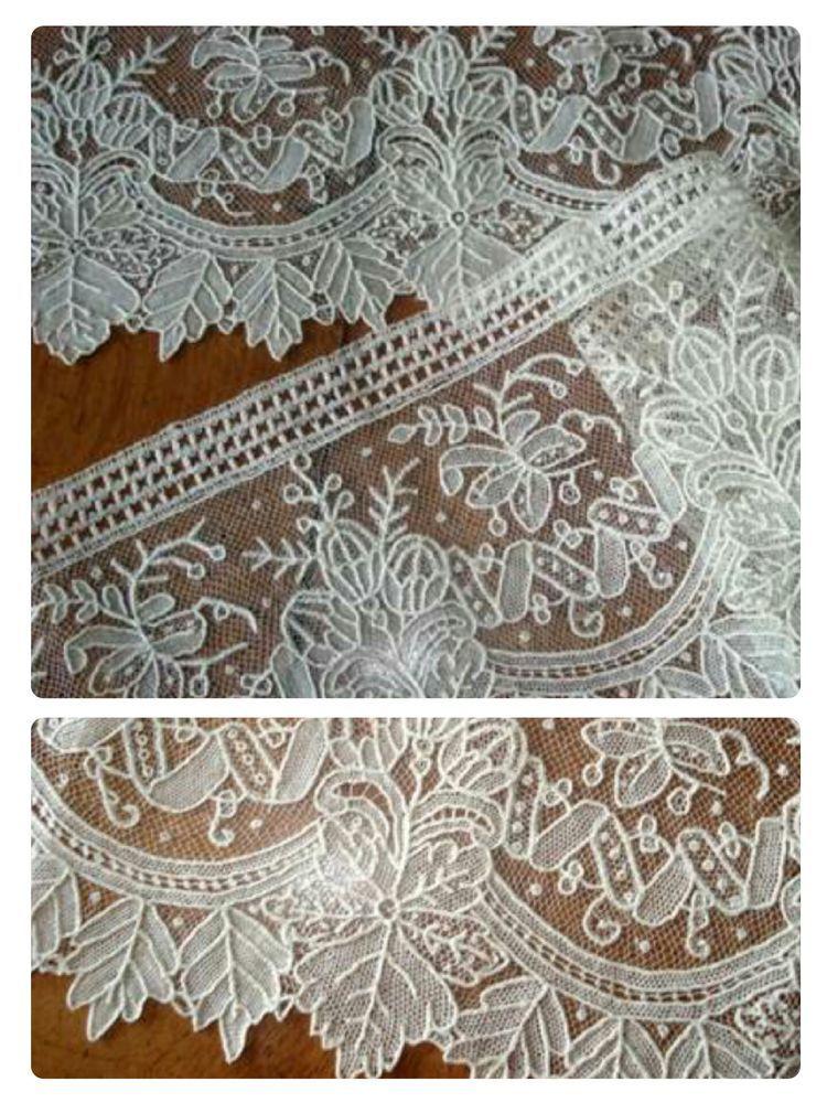 антикварное кружево, нормандское кружево, уникальная коллекция