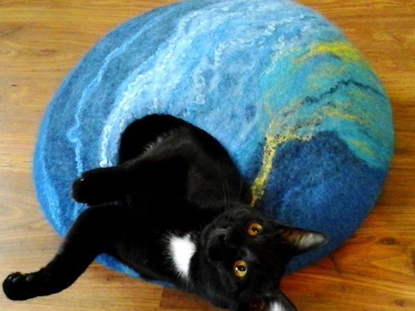 Домик для кошки - фото процесса изготовления. | Ярмарка Мастеров - ручная работа, handmade