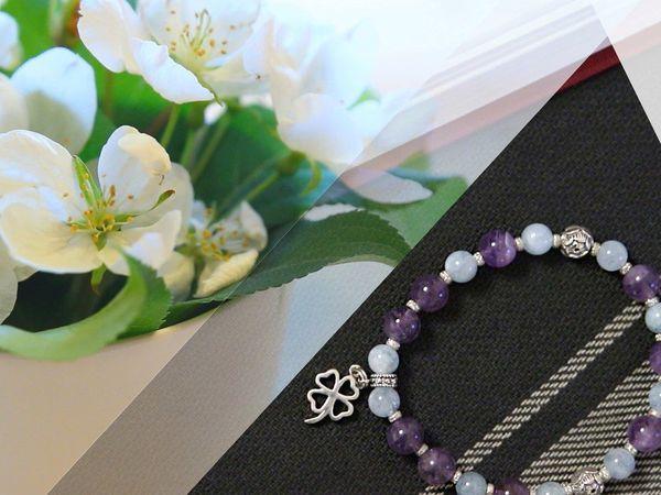 Браслеты и изделия из натуральных камней от Magic Store! | Ярмарка Мастеров - ручная работа, handmade