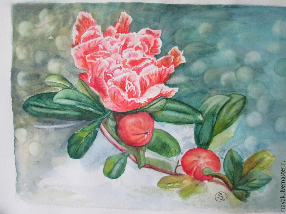 как рисовать цветы, шаг за шагом
