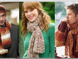 Аксессуары в стиле unisex: подборка модных шарфов и снудов. Ярмарка Мастеров - ручная работа, handmade.