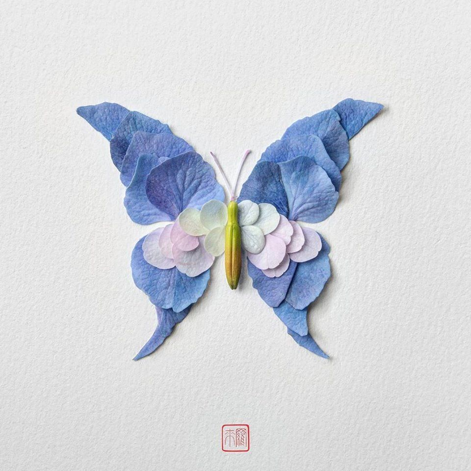 Petal Magic: Unusual Compositions by Raku Inoue, фото № 18