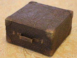 Видео мастер-класс: мастерим миниатюрный чемоданчик для куклы. Ярмарка Мастеров - ручная работа, handmade.