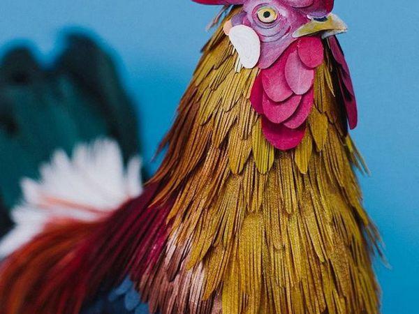 Невероятные бумажные птички от колумбийской художницы! | Ярмарка Мастеров - ручная работа, handmade