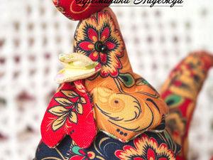Шьём симпатичного петуха — символ 2017 года. Ярмарка Мастеров - ручная работа, handmade.