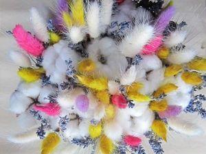 Завтра - последний день скидок на сухоцветы! | Ярмарка Мастеров - ручная работа, handmade