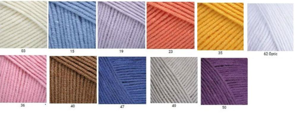 пряжа для вязания, yarnart jeans