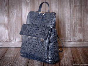 Сумка-рюкзак по сниженной цене !Приглашаем за покупками!. Ярмарка Мастеров - ручная работа, handmade.