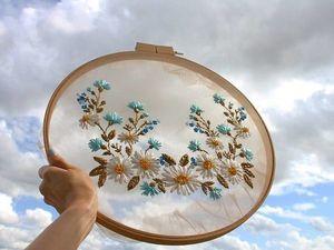 Парящая под небесами: воздушная вышивка от Krista Decor. Ярмарка Мастеров - ручная работа, handmade.