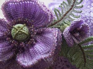 Летний цветочный браслет. | Ярмарка Мастеров - ручная работа, handmade