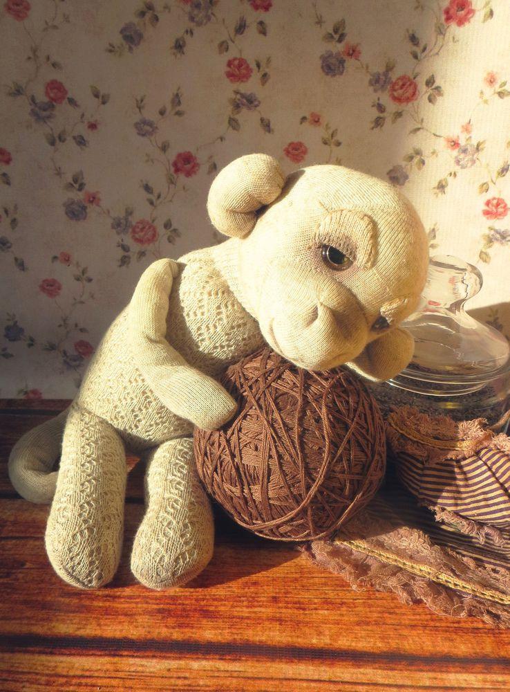 носочная игрушка, подарок для девушки