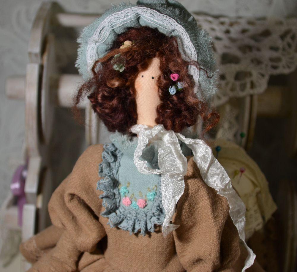 париж, парижанка, кукла тильда, лен, рококо